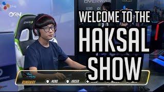 Welcome to the Haksal Show - Korean Genji Highlights - Overwatch