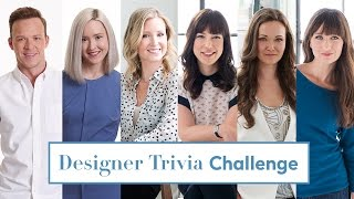 Designer Trivia Challenge — Famous Spaces, Kitchen Design & More!