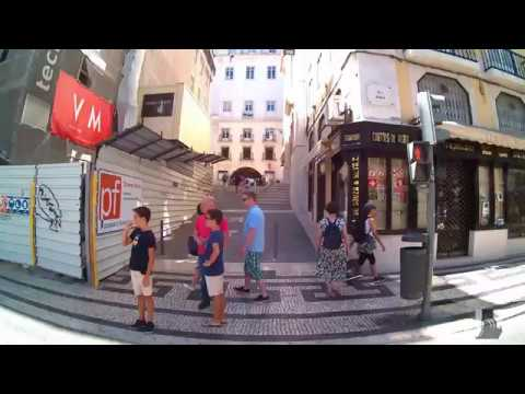 Lisbon Travel Guide(Lisboa): Largo do Chiado - Portugal Aug. 2017