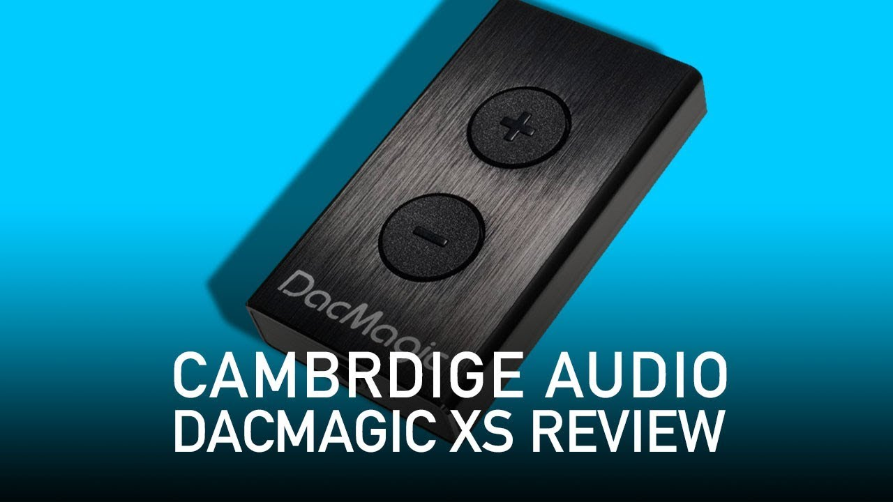 Cambridge Audio DacMagic XS Portable USB DAC Amp Blue