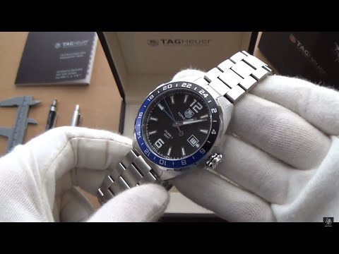 TAG Heuer F1 Automatic GMT Watch - Full Review & Discussion - Ref. WAZ211A.BA0875
