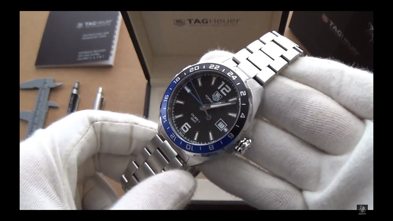 d1e72400e TAG Heuer F1 Automatic GMT Watch - Full Review & Discussion - Ref.  WAZ211A.BA0875