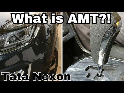 What is AMT{automatic manual transmission} - Tata Nexon