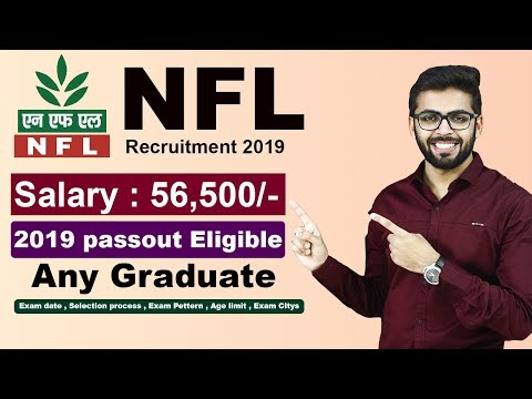 NFL recruitment 2019 | Up to ₹56500 PM | STORE | Any Graduate | Freshers | Latest Jobs 2019