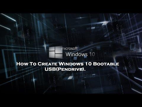 How to make bootable USB (2017)