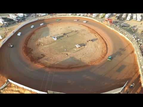 Sharp Mini Late Models at the Winter Freeze Screven Motor Sports Complex 2017