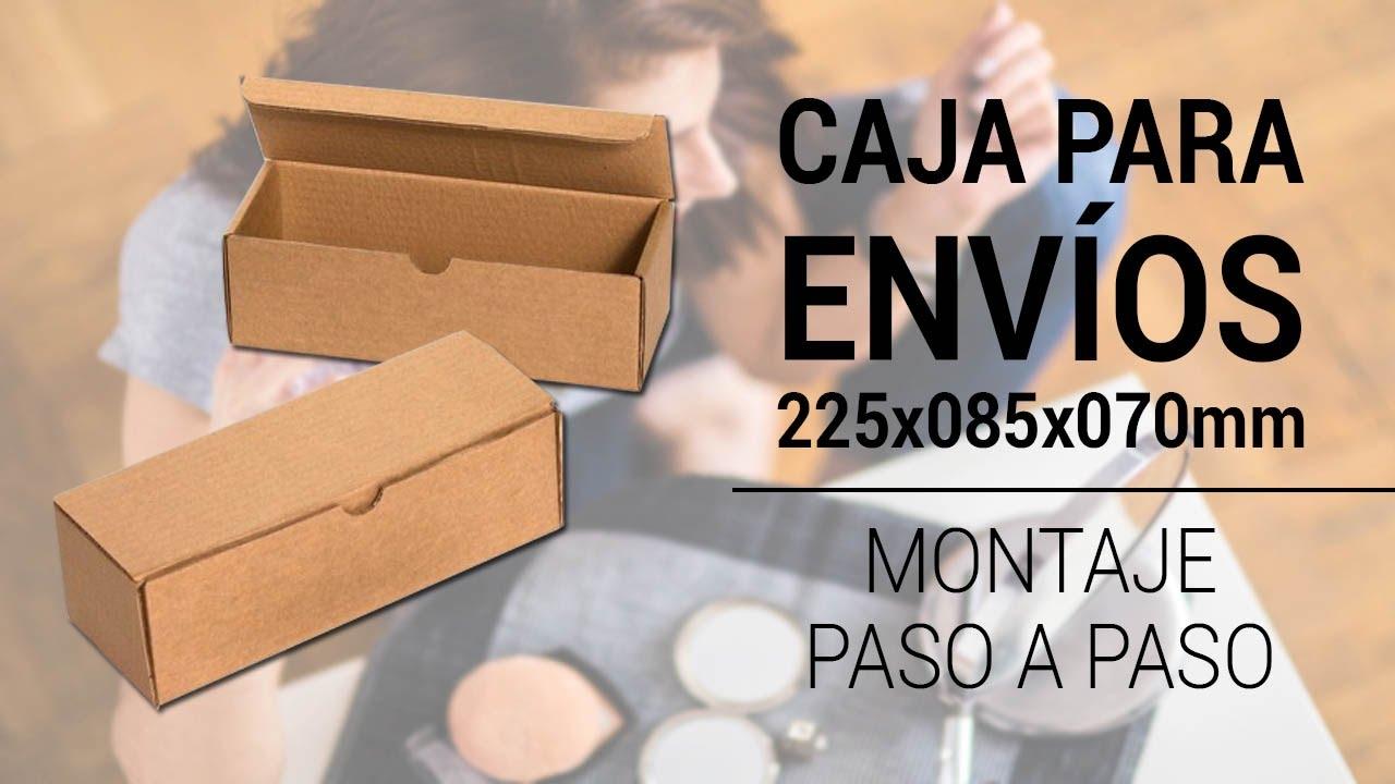 Caja Para Envíos 225x085x070mm Youtube