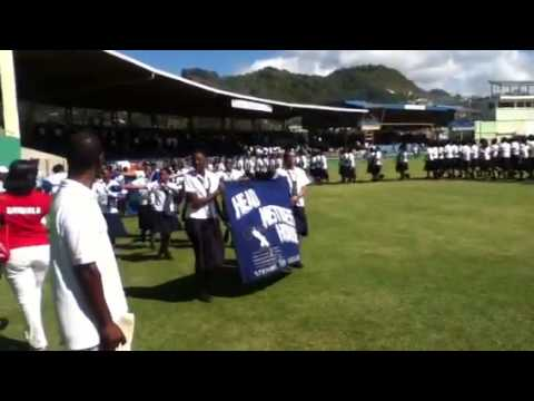 St Vincent grammar school/girls high school march pass 2013