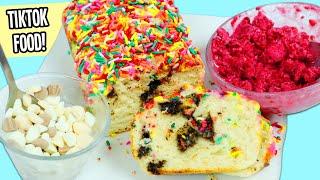 Testing Out 3 Viral TikTok Desserts   Fun & Easy DIY Dippin Dots, Ice Cream Cake, & Fruit Ice Cream!