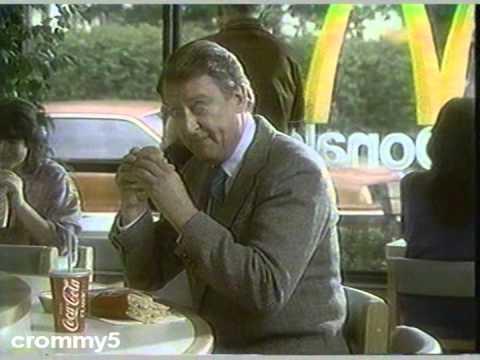 1986 McDonald's Big Mac Commercial with Tom Poston