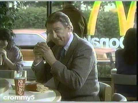1986 McDonald's Big Mac Commercial with Tom Poston