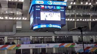 Универсиада 2017. Хоккей. Казахстан-Чехия. 8-0