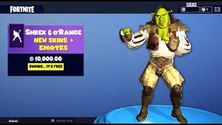 Exclusive Fortnite skins & emotes for Shrek + o'Range. Plus a surprise by vokikas