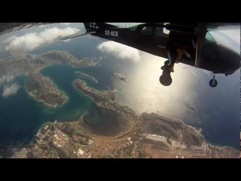 skydive greece 2012 02 18 Exits [HD]