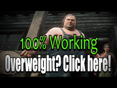 100% Working! How to lose WEIGHT the right way (Red Dead Redemption 2 Online) thumbnail