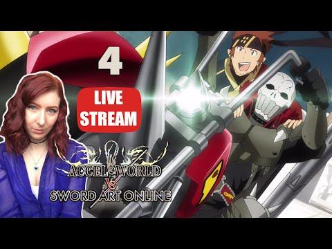 KLEIN AND ASH ROLLERS BROMANCE!  Accel World VS Sword Art Online PS4  PS VITA Walkthrough Part 4
