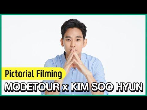 돌아온 김수현! 모두투어와 함께한 모델 촬영 현장!