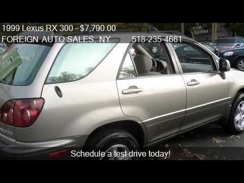 1999 Lexus RX 300 Base AWD 4dr STD SUV for sale in TROY NY  YouTube
