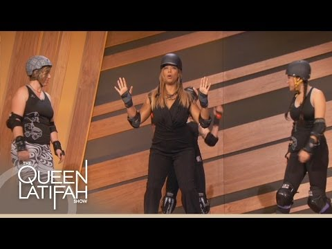 Chicago Roller Derby Team on The Queen Latifah Show