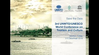 UNWTO official message for the 3rd UNWTO/UNESCO World Conference on Tourism & Culture