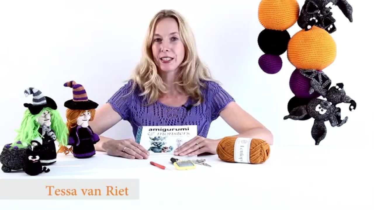Amigurumi Monsters Tessa Van Riet : Instructievideo Amigurumi & monsters - Tessa van Riet ...