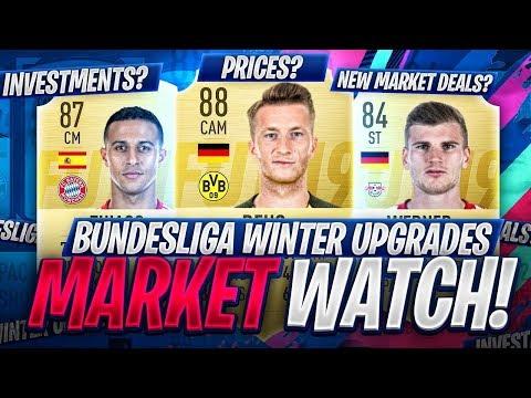 BUNDESLIGA RATINGS REFRESH! MARKET WATCH! FIFA 19 Ultimate Team thumbnail