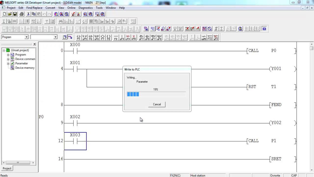 Plc Block Diagram V0 1 Youtube