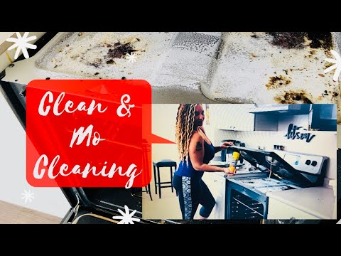 How to Clean your Refrigerator & Stove in 60 mins or less!