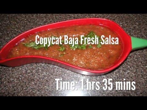 Copycat Baja Fresh Salsa Recipe
