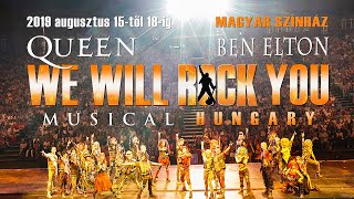 We Will Rock You musical augusztusi előadások