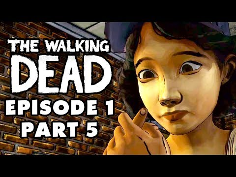 The Walking Dead Game - Episode 1, Part 5 - Pharmacy (Gamepl