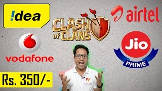 Clash Of TELECOMS | Jio, Airtel, Vodafone, Idea Battle For Your Rs 350/- | Data Dock