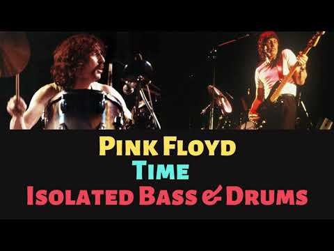 Pink Floyd - Time - Isolated Bass & Drums Tracks