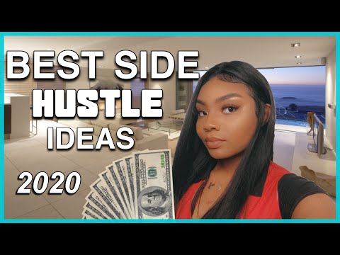 10 Easy Side Hustle Ideas For 2020 🤑 + How To Start Making Making From Home and fast!