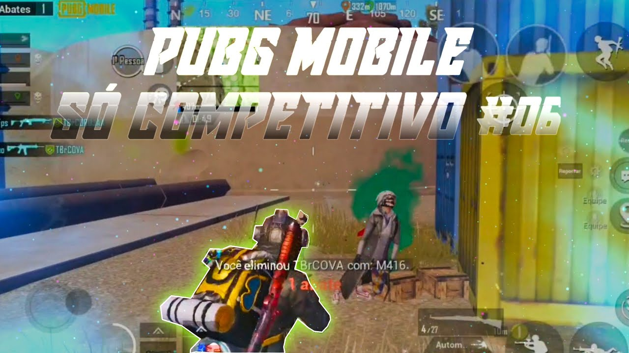 PUBG MOBILE | ONLY COMPETITIVE #06