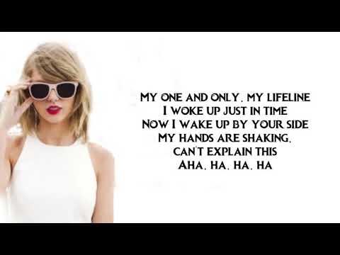 Taylor Swift Dress LYRICS By Yaniza