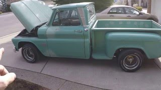 1966 Chevrolet C10 short bed stepside