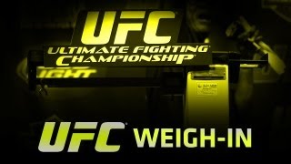 UFC 163: Aldo vs. Korean Zombie Weigh In