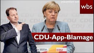 CDU zeigt CCC Hackerin an und erntet Shitstorm | Anwalt Christian Solmecke