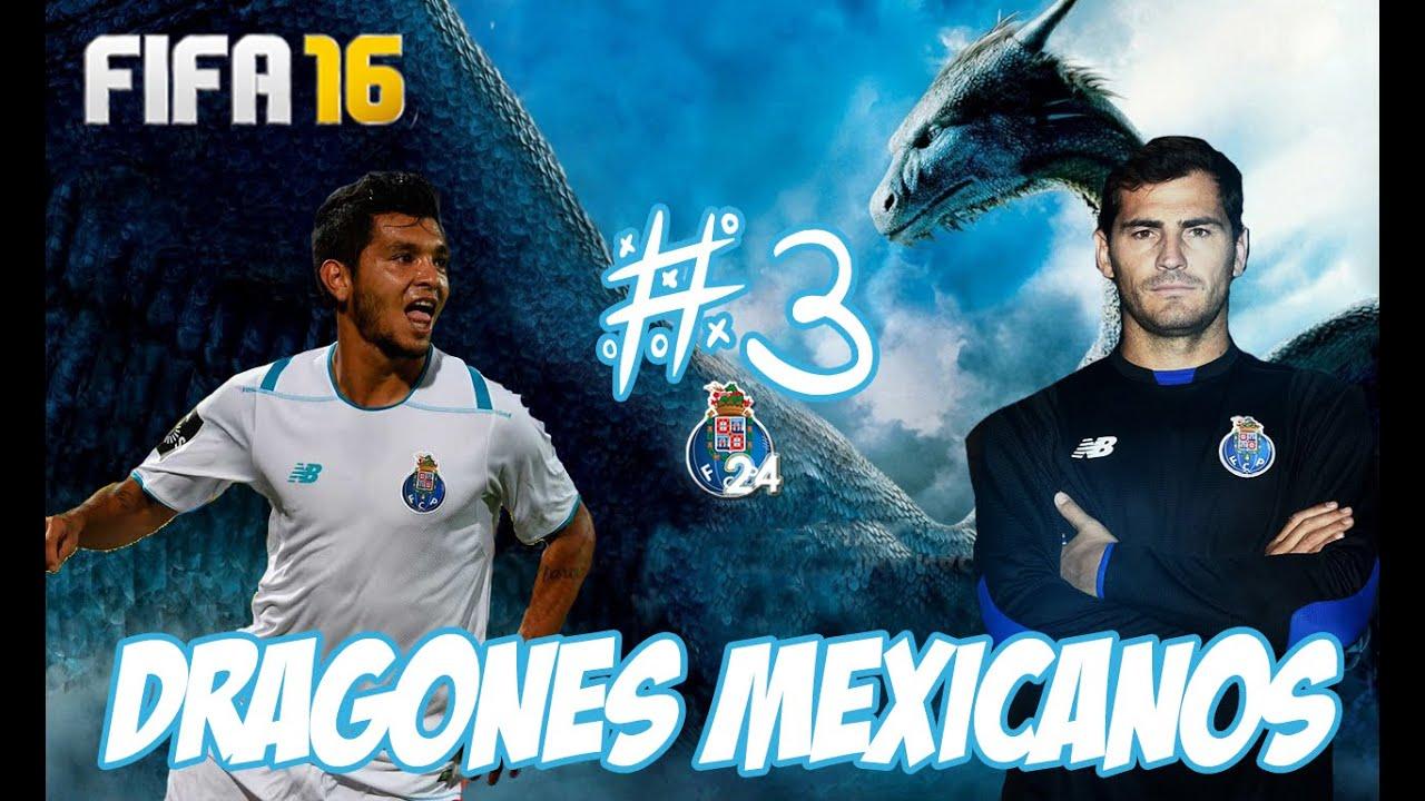 FIFA 16: Modo Carrera Fc Porto #3- MexiDragons back