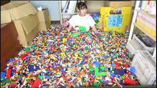 妹の部屋がレゴ50000個で溢れかえってた。家族絶縁沙汰