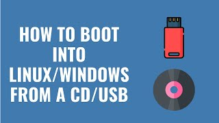 How To Boot Into Backtrack/Linux/Windows from CD/DVD/USB