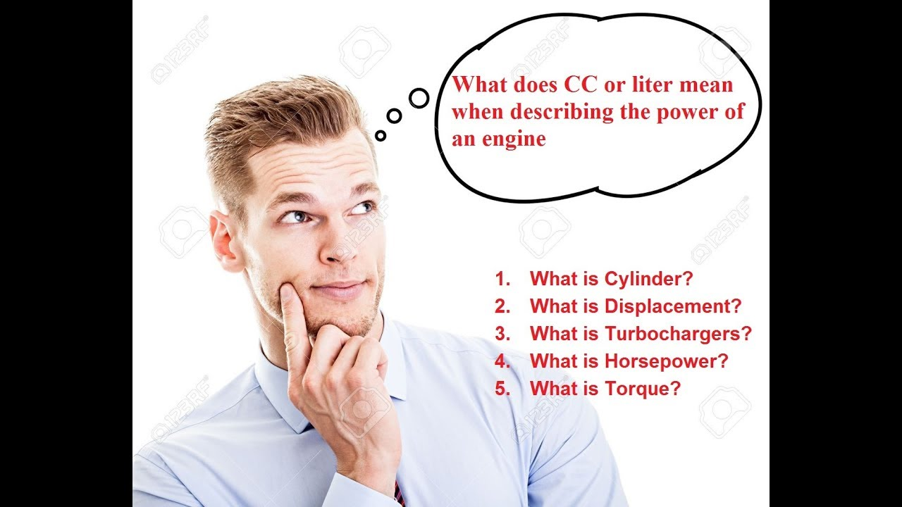 What Does Cc Or Liter Mean When Describing The Power Of An