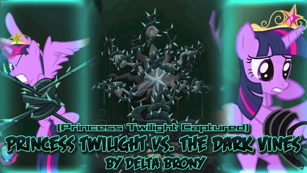 MLP FiM Princess Twilight Sparkle Vs The Dark Vines