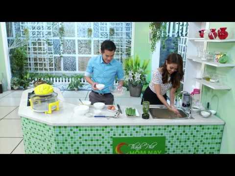 Bánh bò nướng lá dứa - Thành Phố Hôm Nay [HTV9 – 03.08.2014]