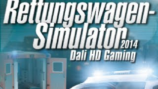 Rettungswagen / Ambulance Simulator 2014 PC Gameplay HD 1440p