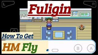 Where do i get hm fly in pokemon liquid crystal