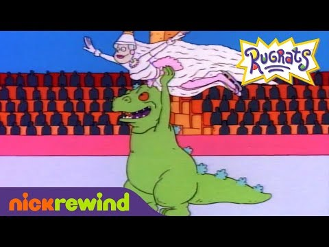 Reptar Sings 🎶 What's A Dinosaur To Do, When There's Kids On The Ice! 🎶 | NickRewind