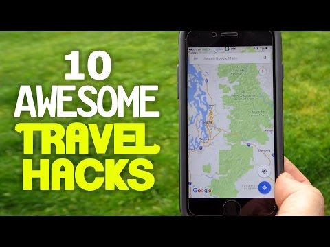Thumbnail: 10 Awesome Travel Hacks YOU Should Try
