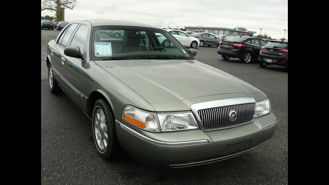 2003 mercury grand marquis 43000 original miles for sale. Black Bedroom Furniture Sets. Home Design Ideas